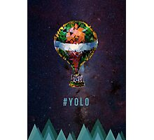 #yolo space Photographic Print