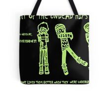 Night of the Undead Hipsters Tote Bag