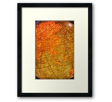 The Wonders of The World Await Me Framed Print