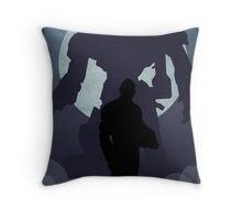Propaganda Jaeger 2/5 Throw Pillow