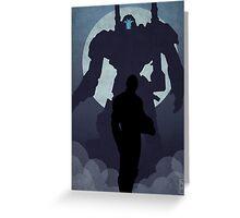 Propaganda Jaeger 2/5 Greeting Card