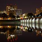 Market Street Bridge Reflections by Shelley Neff