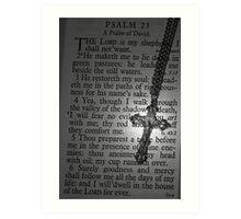 Psalms Art Print