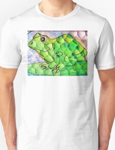 Frog funny textured colorful frog T-Shirt