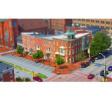 Corner of Second and State Streets Photographic Print