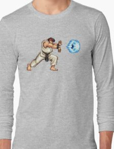 Ryo Hadouken Long Sleeve T-Shirt