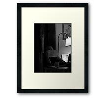 artist, husband, poet, hmmmm, did I mention comedian? Framed Print