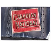 Canadian National Poster