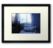 Bear, one lazy afternoon. Framed Print