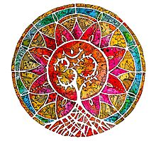 Tree of Life Mandala Photographic Print