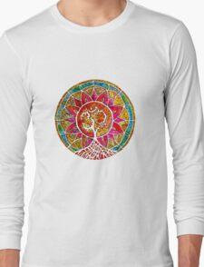 Tree of Life Mandala Long Sleeve T-Shirt