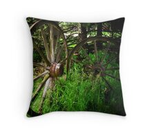 Where have the wagons gone? Throw Pillow