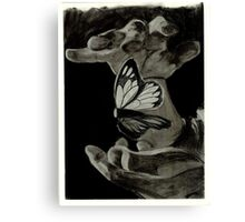 Suspended Butterfly Canvas Print