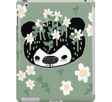 Flower bear iPad Case/Skin