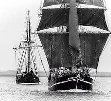 Tall Ships Ahoy!  by MarcW