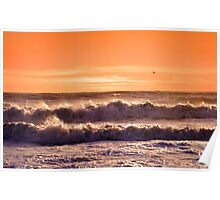 The Waves Poster