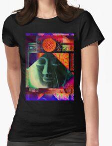 5718a Buddha Womens Fitted T-Shirt