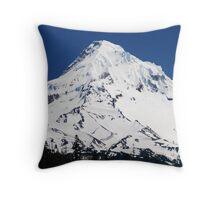 Magestic Mt Hood Throw Pillow