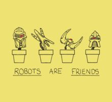 Robots Are Friends Baby Tee