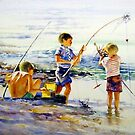 First Catch of the Day by Norman Kelley