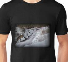 Upper Falls Ice Flow  Unisex T-Shirt