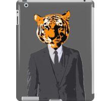 Tiger Businessman iPad Case/Skin