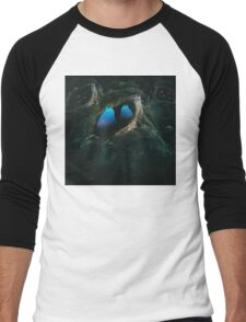 In the Forest of the Night Men's Baseball ¾ T-Shirt