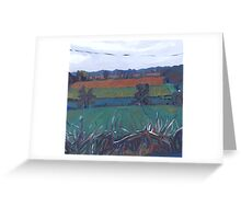 French country side Greeting Card
