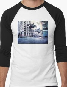 City of whales Men's Baseball ¾ T-Shirt