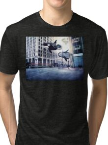 City of whales Tri-blend T-Shirt