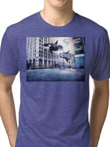City of whales Tri-blend T-Shirt