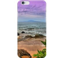 A View from Maluaka Beach iPhone Case/Skin