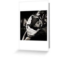 Maternal bond. Greeting Card