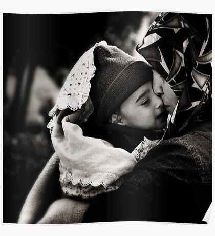 Maternal bond. Poster