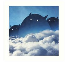 Beyond the Clouds Art Print