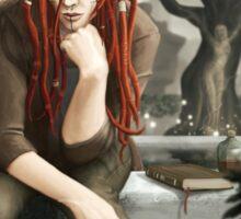 Siteya Ganaya, elf priestess and healer Sticker