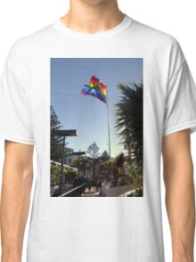 The Rainbow Flag Backlit Classic T-Shirt