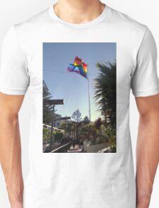 The Rainbow Flag Backlit T-Shirt