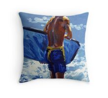 High Noon Throw Pillow