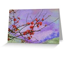 Quince in Washington Greeting Card