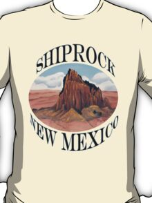 Shiprock New Mexico ~ T-shirt and Sticker T-Shirt