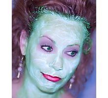 Beauty Mask III Photographic Print