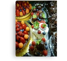 Masterpiece in Deliciousness  Canvas Print