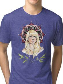 Mandala Girl Tri-blend T-Shirt