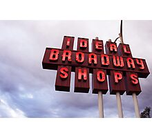 IDEAL SHOPS Photographic Print