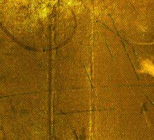 Golden Decay Sticker