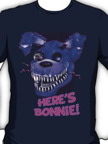 Five Nights At Freddy's- NIGHTMARE BONNIE w/ TEXT T-Shirt