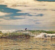 Swell-Lt Blue Sticker