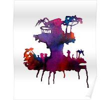 Gorillaz Plastic Beach Poster