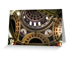 Montana Capitol Dome Greeting Card